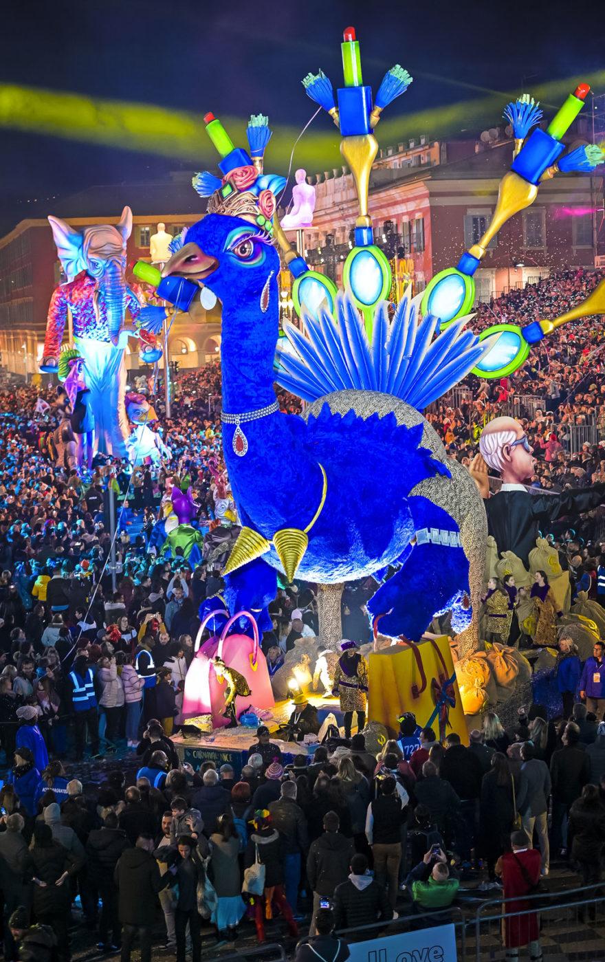 France festivités chars carnaval