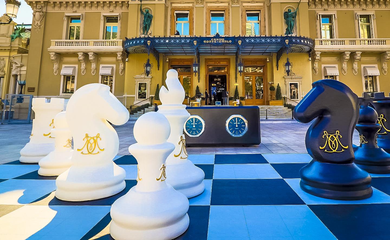 Monaco Jeu d'échec Casino